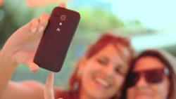 Ein perfektes Selfie macht glücklich