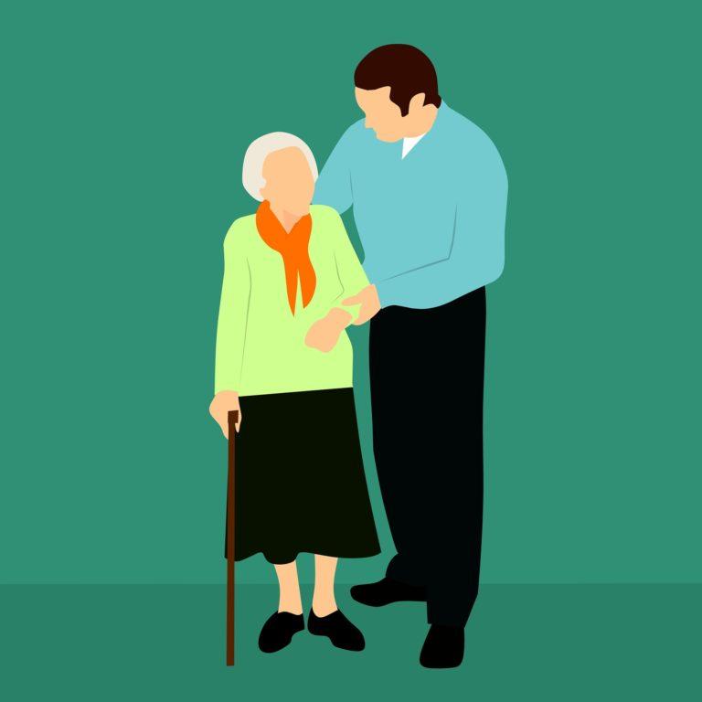 Professionelle Altenbetreuung