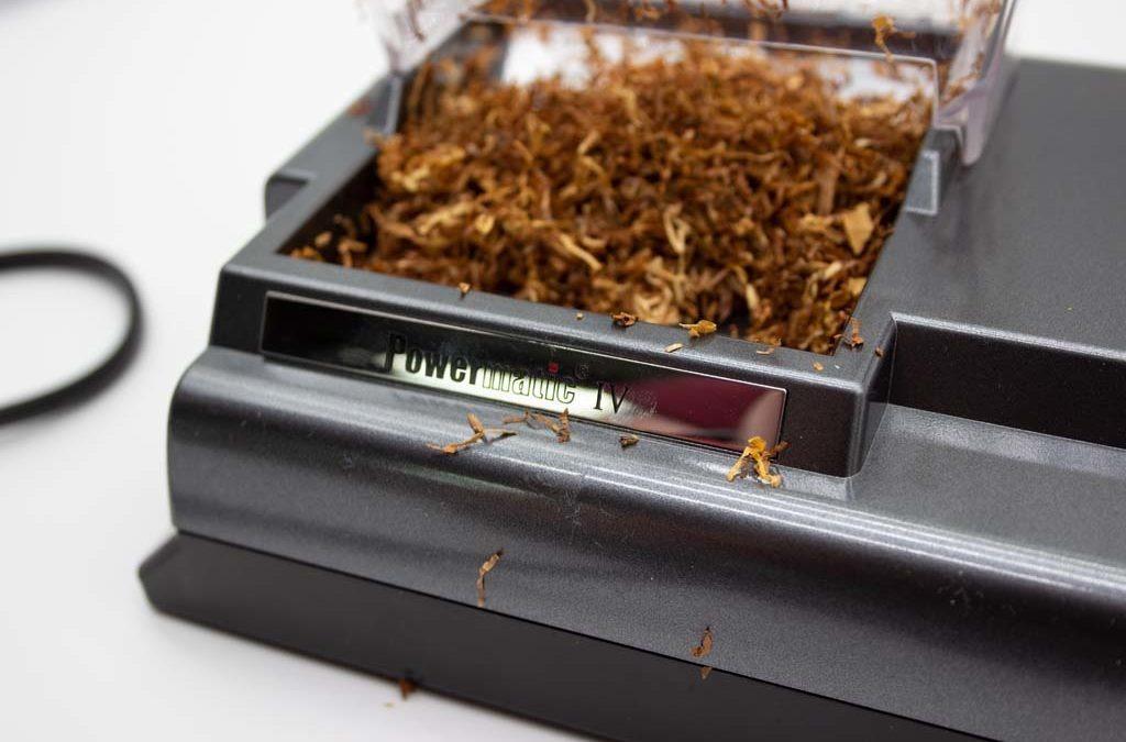 Zigarettenstopfmaschine Powermatic IV auf konsumguerilla.net